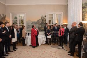 Présentation des étudiants - Journée du 8 avril 2016 à l'Hôtel de Pomereu