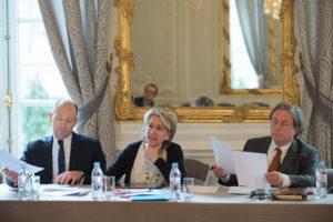 Le bureau - Journée du 8 avril 2016 à l'Hôtel de Pomereu